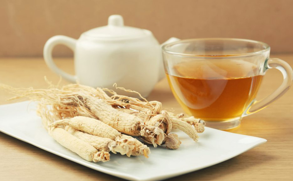 Detoxing - Ginseng Tea