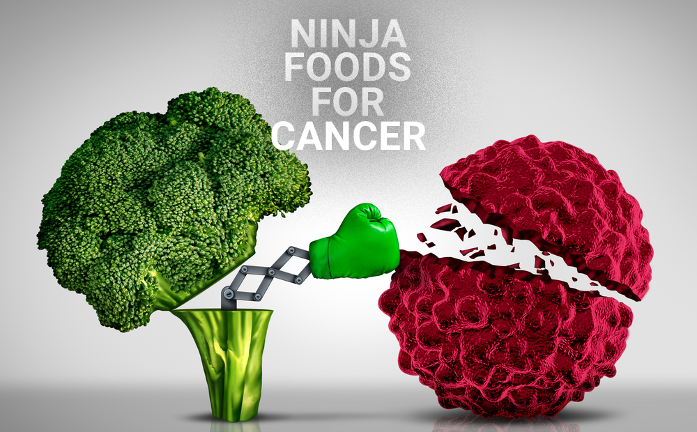 FOODS THAT HELP FIGHT CANCER