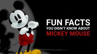 FUN FACTS YOU DIDN'T KNOW ABOUT MICKEY MOUSE