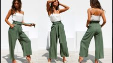 Wear Palazzo Pants with different Outfits